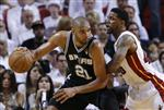 NBA=ファイナル、スパーズが敵地での接戦を制し先勝