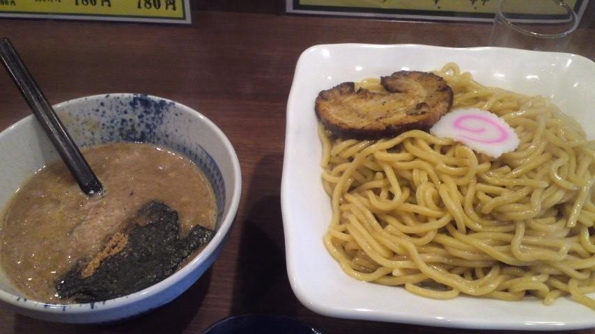 本日オープンのつけ麺屋に行ってきました!
