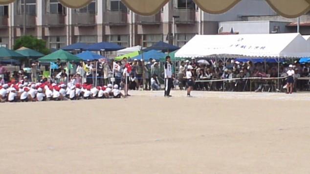 近所の小学校の運動会に参加してきました。