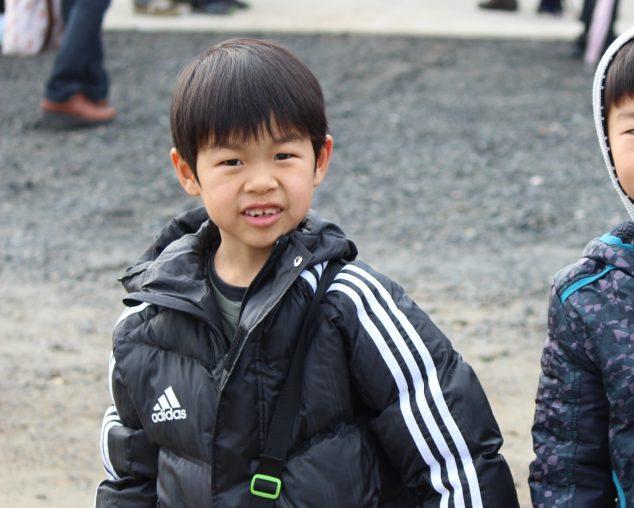 息子のマラソン大会!
