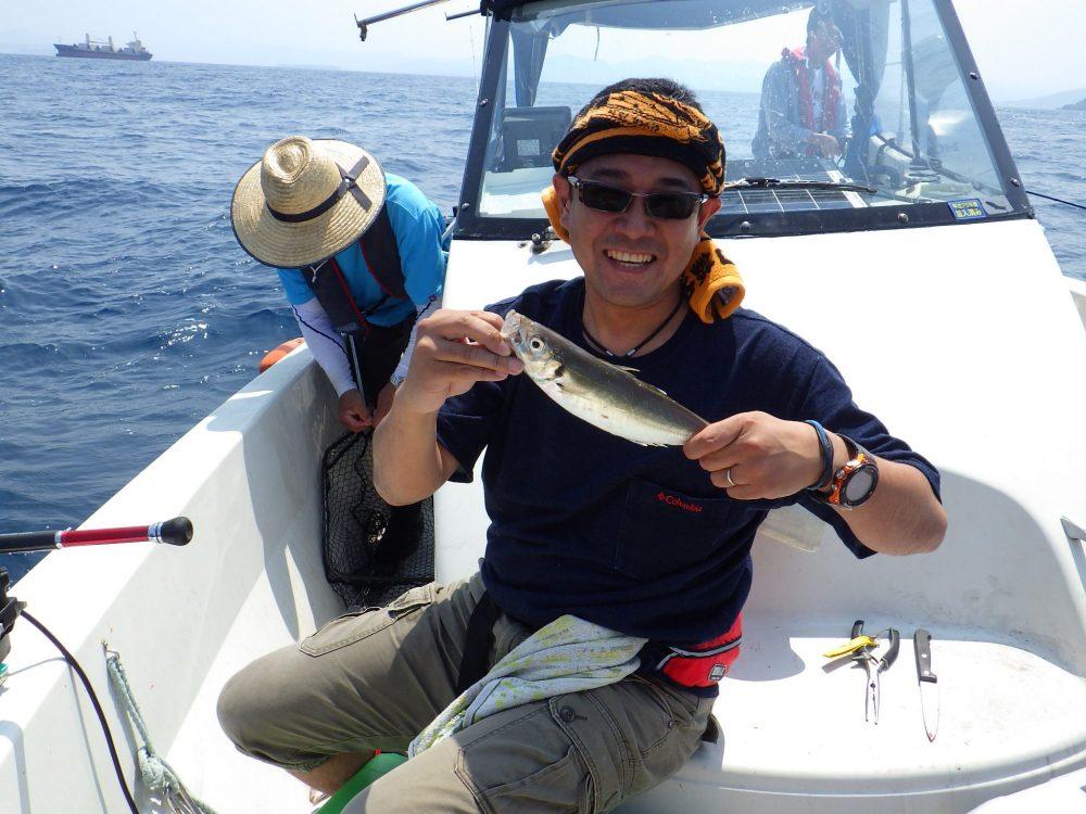 数十年ぶりの船釣り!