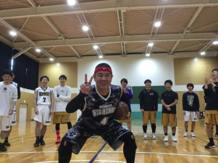 熊大バスケ部OB会参戦記