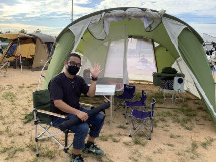 キャンプに行こう計画、始動!